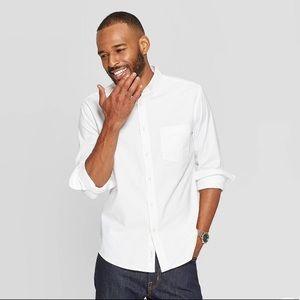 Men's standard fit long sleeve Whittier oxford